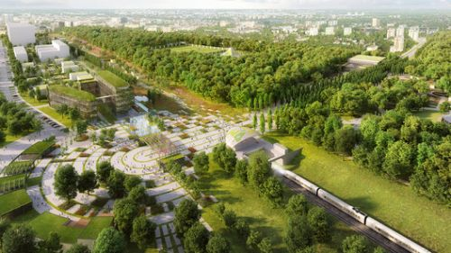 Chapman Taylor Designs Masterplan for the World Horticultural Expo in Poland's Third-Largest City