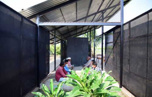Assembly and Rural House Form / Atelier Shantanu Autade