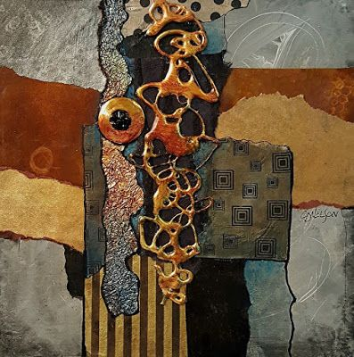 Metals and Mixed Media Contemporary Abstract