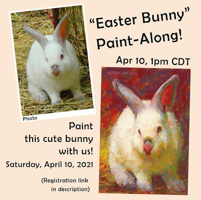 """Easter Bunny"" Paint-Along! April 10"
