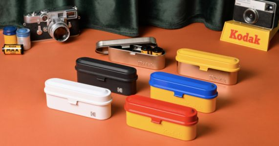 Kodak to Release '70s-Inspired Metal Film Cases in Six Colors