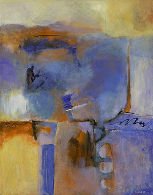 """Contemporary Art, Abstract Painting, Expressionism, Mixed Media """"Remaining Solid"""" by Contemporary Artist Liz Thoresen"""