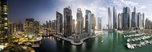 'Timeblend Dubai' Series Folds the Soul of Timelapses into Still Photos