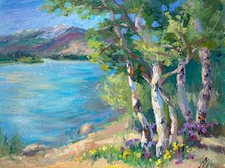 Painting Tranquility in Colorado's Rocky Mountains