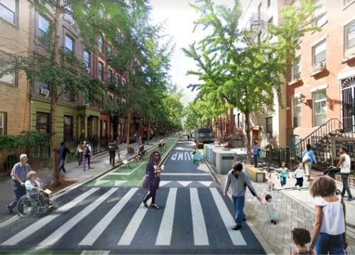 PAU Reimagines New York City Without Cars