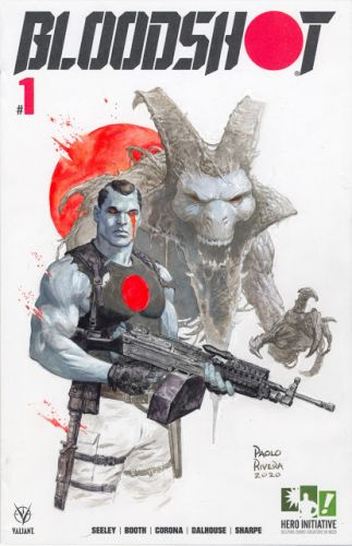 Bloodshot for Hero Initiative