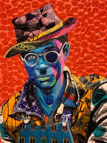 Colorful Quilts by Bisa Butler use African Fabrics to Form Nuanced Portraits