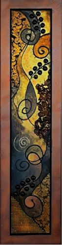 Textured Mixed Media Abstract Painting