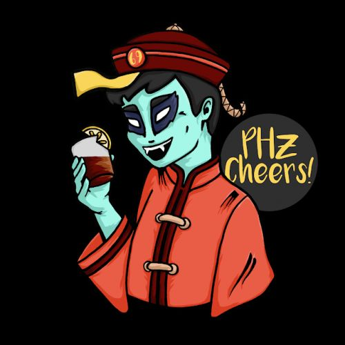 PHz Cocktail competition character