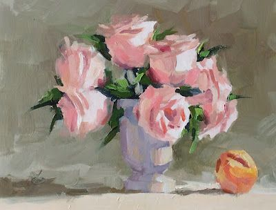 FLORAL STILL LIFE by TOM BROWN