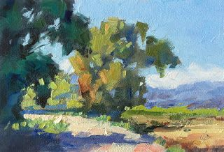 COLORFUL LANDSCAPE by TOM BROWN