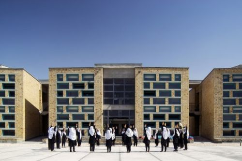 Gohar Khatoon Girls' School / Robert Hull + University of Washington