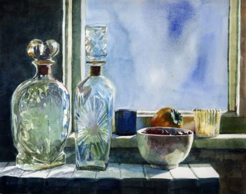 Still Life Painting in Watercolors