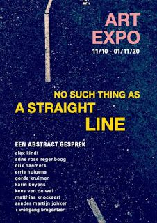 NO SUCH THING AS A STRAIGHT LINE group expo of Belgian & Dutch abstract art