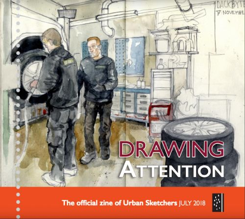 Drawing Attention July 2018