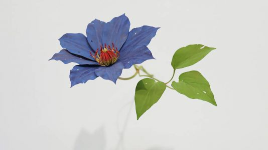 Delicate Flowers of Carved Wood by Yoshihiro Suda Spring Out from Cracks