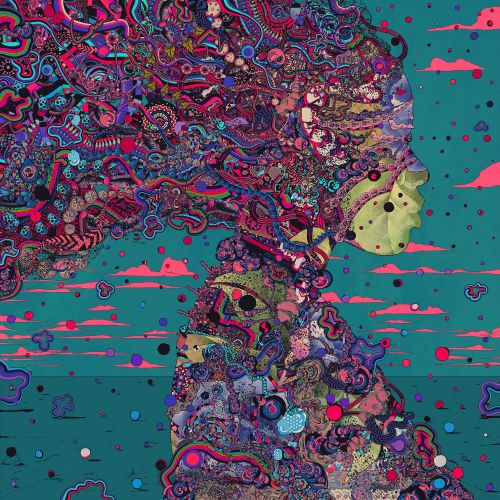 Considering Complexity and Ritual, an Imaginary Universe Emerges from Psychedelic Digital Illustrations