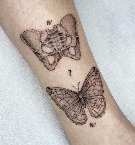 Science-Inspired Ink by Michele Volpi Blurs the Line Between Tattoo and Textbook