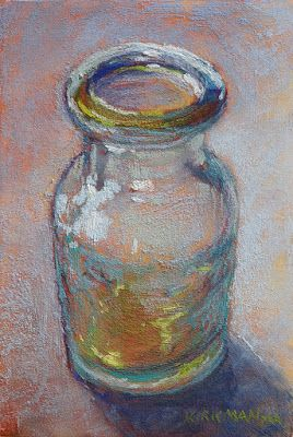 Day 22 - Little Glass Carafe