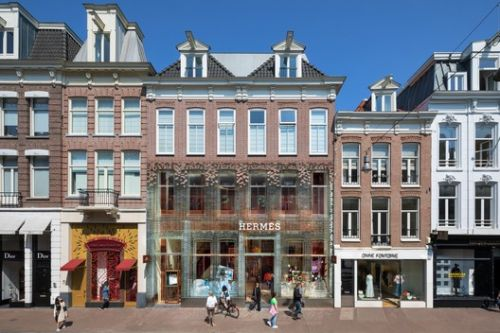 MVRDV Reopens Crystal Houses with New Tenant and Facade
