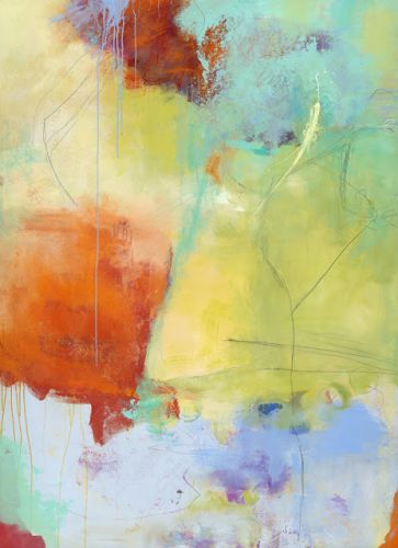 """Abstract Art, Expressionism, Contemporary Painting """"23"""" by Contemporary Artist Maggie Demarco"""