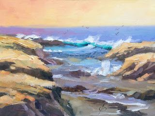 COASTAL SEASCAPE by TOM BROWN