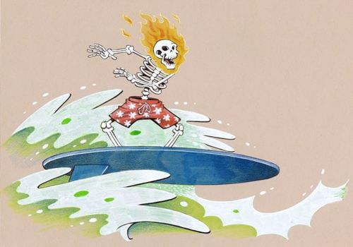 Ghost Surfer!
