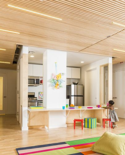 Maple Street School Preschool / BFDO Architects + 4Mativ Design Studio