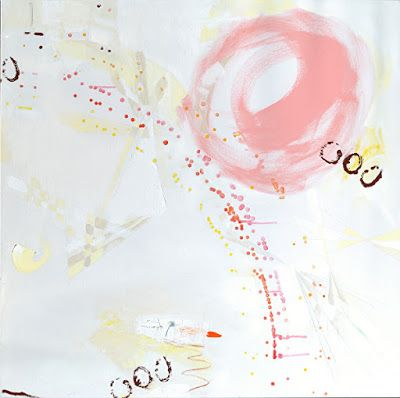 "Contemporary Art, Abstract, Expressionism, Studio 9 Fine Art ""Me, Lightness II"" by International Abstract Artist Amanda Saint Claire"