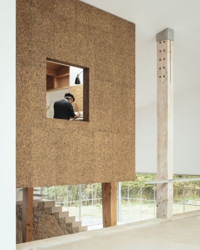 Applying Exposed Cork in Interior Architecture