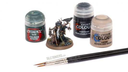 Tutorial: How to paint Torgillius the Chamberlain from Warhammer Quest Cursed City