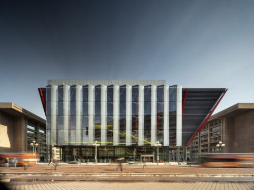 International Spy Museum / Rogers Stirk Harbour + Partners