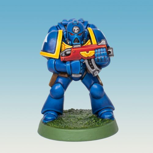Showcase: marchformacragge 2nd Edition 40k starter set Ultramarine