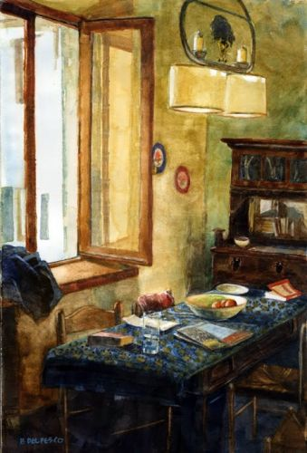 Watercolor: Vacation Rental and Links to Watercolor Tips