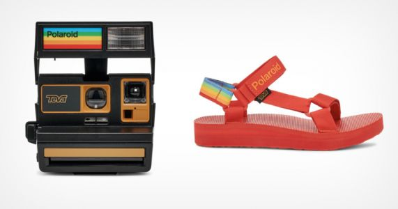 The Teva x Polaroid 600 Camera is Built From Refurbished Parts