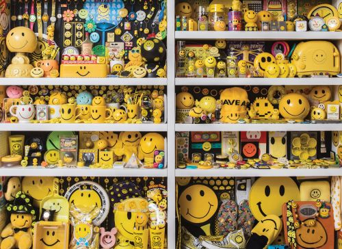 The Sm;)e Book Celebrates the Decades-Long, Eclectic History of the Smiley Face