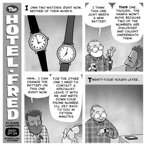 A Watched Watch That Never Boils