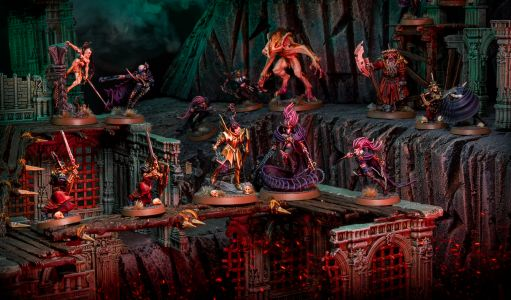 Showcase: Soulblight Gravelords Warcry Warband