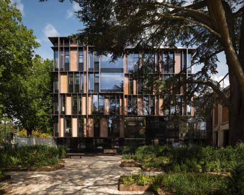 University of Oxford Beecroft Building / Hawkins\Brown