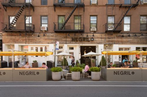 Outdoor Dining Could Become Permanent in NYC as Architects Innovate