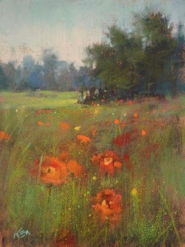 An Easy Way to Add Interest to Your Pastel Painting