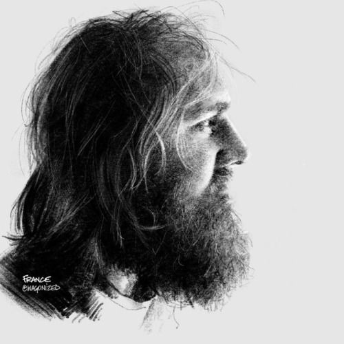Justin • 6B compressed charcoal + 6B pencil tool in procreate •