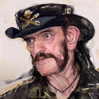 Sketch in progess of Lemmy