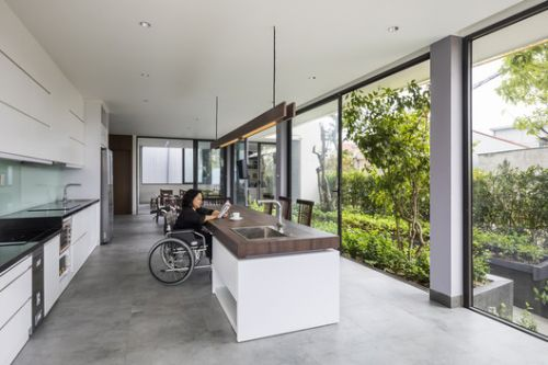 What Types of Residential Floors Favor Wheelchair Circulation?