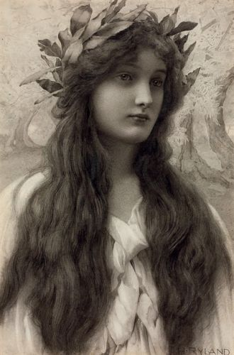 Worth a Thousand Words: Maiden with a Laurel Wreath