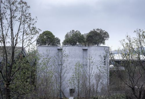 Garden Expo Silo Bookstore of Library AVANT-GARDE / China Architecture Design & Research Group
