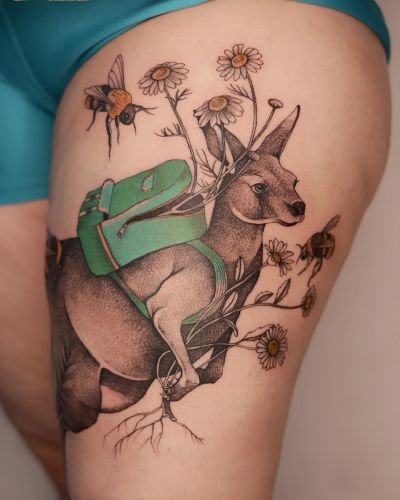 Delicately Illustrated Tattoos Take a Whimsical Approach to Flora and Fauna