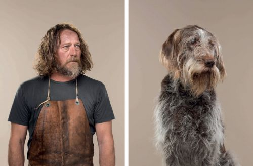 Uncanny Resemblances Between Classic Dog Breeds and Humans Captured by Gerrard Gethings