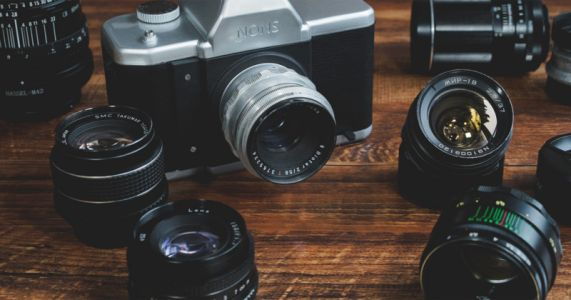 The NONS SL42 is an Interchangeable Lens Camera that Shoots Instax Film
