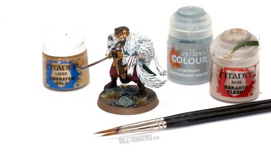 Tutorial: How to paint Radukar the Wolf from Warhammer Quest Cursed City